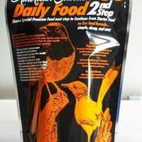 Ams gold 35 pelet 250gr untuk burung murai dan burung pemakan serangga