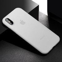 iPhone X casing back cover soft case ultra thin matte ORIGINAL CAFELE