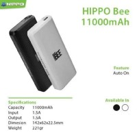 Power Bank Hippo Bee 1100mAh Original Real Capacity TI0042
