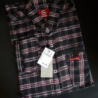 Kemeja Flanel Branded Bahan Premium Flannel 3