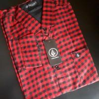 Kemeja Flanel Branded Bahan Premium Flannel 10