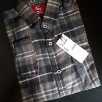 Kemeja Flanel Branded Bahan Premium Flannel 6