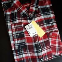 Kemeja Flanel Branded Bahan Premium Flannel 11