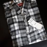 Kemeja Flanel Branded Bahan Premium Flannel 5