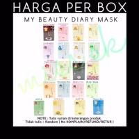 Box isi 10 sachet My Beauty Diary Face Mask masker wajah