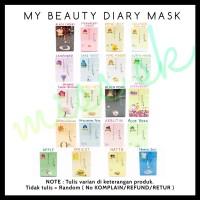 SACHET My Beauty Diary Face Mask korea masker wajah diary