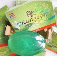Sabun Jerawat Tea Tree Oil - Kangzen Transparant Soap