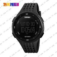 Jam Tangan Pria Digital SKMEI 1219 Black Water Resistant 30M