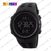 Jam Tangan Pria Digital SKMEI 1251 Black Water Resistant 50M