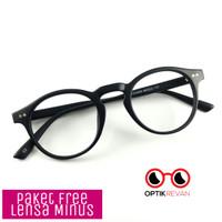 Paket Frame Kacamata Korea / Kacamata minus / Kacamata Vintage Bulat