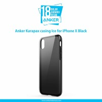 Casing Anker Karapax Ice for iPhone X Black - A9010H11