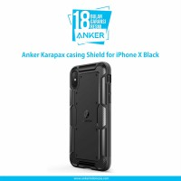 Casing Anker Karapax Shield for iPhone X Black - A9007H11