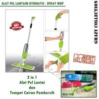 Alat Pel Lantai Otomatis 2 In 1 - Healty Spray Mop