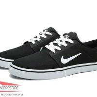 Sepatu Pria Casual Nike SB Portmore CNVS 723874-003 Sneakers Original