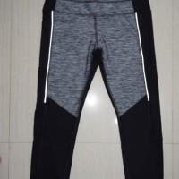 Legging 7/8 X by Gottex SIde Mesh Floral Senam/Gym/Running ORIGINAL