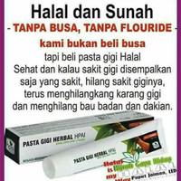 pasta gigi herbal dan sunnah