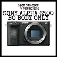 KAMERA MIRRORLESS SONY ALPHA 6500 A6500 ALFA 6500 - BO BODY ONLY