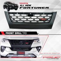 Front Grill / Gril Depan TRD Black Doff Khusus All New Fortuner 2016+