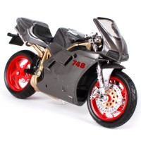 Diecast Miniatur Motor Ducati 748 Skala 1/18 Maisto