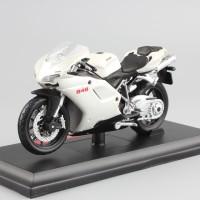 Diecast Miniatur Motor Ducati 848 Skala 1/18 Maisto