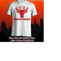 kaos/baju/t-shirt semen padang kabau sirah