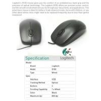best quality Mouse Logitech B100 Optical USB - ORIGINAL