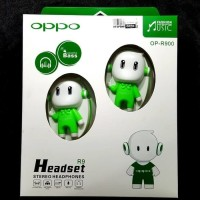 Headset Earphone Handsfree OPPO / HEADSEAT Bando Oppo / Boneka Oppo