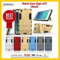 Case Oppo Neo9 A37 Neo 9 Armor Robot Rugged Ironman Transformer Crack