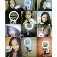 Ring Selfie Ring Light LED Charm Eyes Portable Clip (SALE)