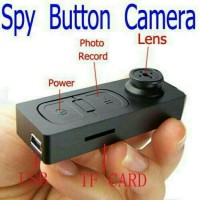 Kamera Kancing Baju SPY Camera Kancing HD (SALE)