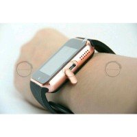 Smartwatch GT08 Gold Emas Smart Watch GT08 Top Murah Bagus (SALE)