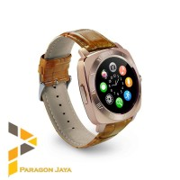 Smart watch DZ10 / Smartwatch X3 Gold Brown Sim Card Whatsapp Memory