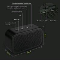 Portable Speaker With Micro SD Slot (SALE)