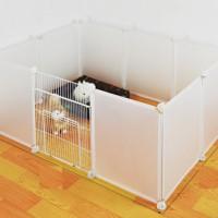 Kandang Pagar Anjing Hewan kucing cat dog anti kuman RUMAH bisa cuci