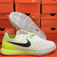 Sepatu Futsal Nike Magista X Finalle White Volt IC