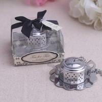 Stainless Teapot Infuser/pencelup teh - Cocok utk Souvenir-Ready Stok!