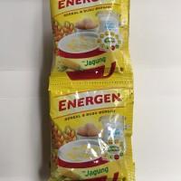 Energen Jagung 1 Renceng 10 Sachet Pcs Sereal Kuning Dus 25g 25gr