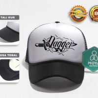 Topi Jaring Trucker Cap Trucker Hat | Dagger Mod - TRVP.HPH DGGR#02