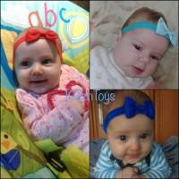 Bando Bayi dan anak perempuan|Headband pita cute | Bandana S03