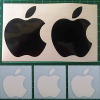 Decal Sticker Macbook Apple Macbook Stiker Logo Apple Laptop