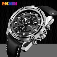 Jam Tangan SKMEI 9156 Kulit Leather Original