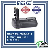 Vertical / Battery Grip MEIKE BG-E14 for CANON 70D