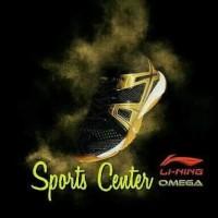 BAD84/NEW !! Sepatu Badminton Lining OMEGA AYTM087 / AYTM 087 Black