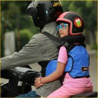 Sabuk Bonceng Motor Anak Safety Apro Multi Fungsi - Biru