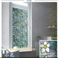 sticker kaca film motif/ sticker pelapis dan pelindung kaca