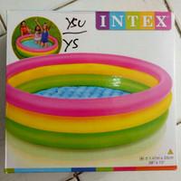 Kolam Renang Anak Besar Model Pelangi INTEX