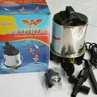 aquarium kolam ikan pompa celup water pump aquila ps 6000
