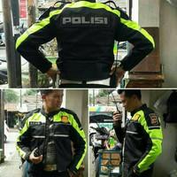 jaket taslan polisi dan formal polos tanpa bordir