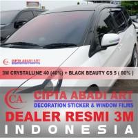Kaca Film 3M Crystalline + Black Beauty (Small Car) 1000% Original