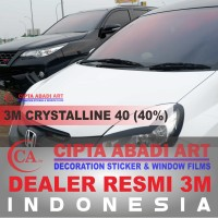 Kaca Film 3M Crystalline Kaca Depan ( Medium Car ) Resmi 100% Original